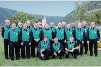 Männerchor auf der Landesgartenschau in Bingen