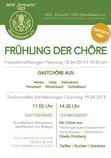 Plakat zur Veranstaltung / Entwurf und Gestaltung Annemarie Zahn