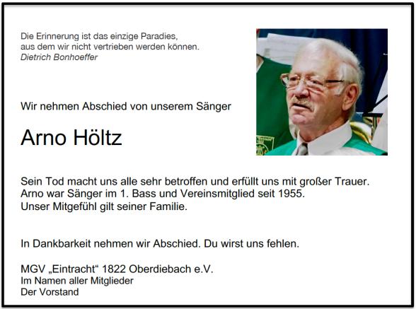 Arno Höltz