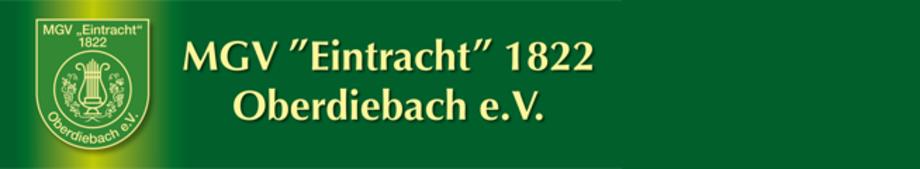 """MGV """"Eintracht"""" 1822 Oberdiebach e.V."""